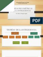 Teorías Psicométricas Sesión 2