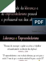 1. a Necessidade Da Liderança e Do Empreendedorismo Pessoal - 2