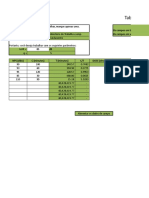 Planilha de Cálculo Para Agentes Físicos
