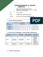 Formato Informe Pedagôgico 3er Bimestre Uypaca(1)