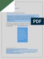 Reading Log Guidelines