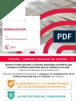 Presentación Normalización 2017