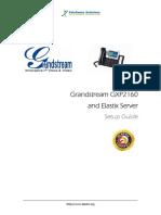 Grandstream-GXP2160 Phone SetupGuide