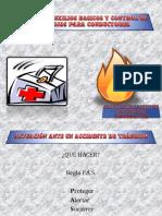 Autoescuela Primeros Auxilios Basicos y Control de Incendios Para