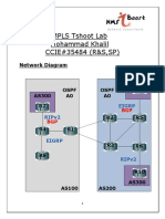 MPLS Tshoot Lab Solutions