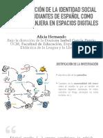 Defensa Tesis Alicia Hernando