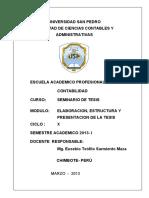 138982373 Modulo Elaboracion de La Tesis Univ San Pedro