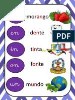 Cartaz an Ficha de Leitura e Selo Para Colar No Caderno Atividades Suzano