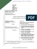Deckers v. SFY Global - Complaint