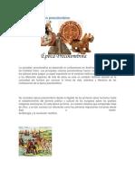 Historia de La Litratura Precolombina