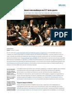 Reforma Trabalhista_ Câmara Vota Mudanças Na CLT Nesta Quarta _ Brasil _ EL PAÍS Brasil