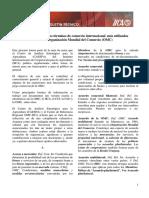 Glosario de La OMC