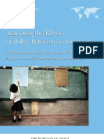 Analyzing the Effects of Policy Reform on the Poor