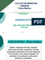 Clas.3.Hidrost. Fisica Medica 2014 Usmp