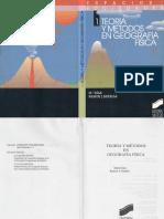 Biologia - Teoria y Metodos en Geografia Fisica