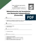 Práctica N°5_ADminsitración de Inventarios Demanda Independiente (1)