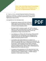 JNC-7 HIPERTENSION ARTERIAL *GUIA AMERICANA