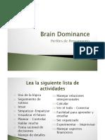 Brain Dominance Test