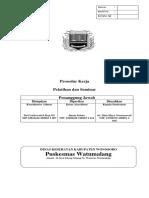 2.1.11 SPO Pengendalian Dokumen Pengendalian Rekanan