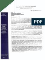 Segunda Carta a Presidente PPK solicitud audiencia_sept2017