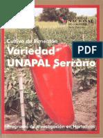 Cultivo de Pimenton Variedad UNAPAL Serrano Uflip