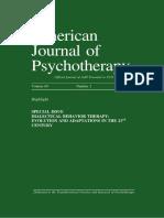 Revisión Aplicaciones Dbt -American Journal of Psychotherapy Vol. 69 No. 2 2015- 8a. 125p
