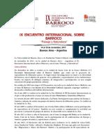Convocatoria Encuentro 2017.