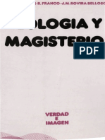 AAVV - Teologia y Magisterio - Ed Sigueme