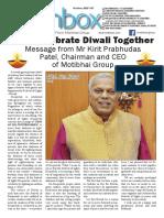 Motibhai Group Newsletter October 2017