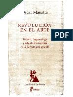 Masotta, O. - Happenings + Conciencia y Estructura (Despueìs del pop,…) (La revolucioìn en el arte, Longoni, A. (ed.)).pdf