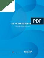 Proyecto de Ley Provincial de Dislexia - Dip. Alejandro Boscarol