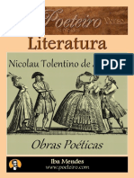 Nicolau Tolentino - Obra Poetica