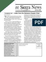 Summer 2008 Delaware Sierra Club Newsletter