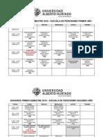 HORARIOS PRIMER SEMESTRE 2017.pdf