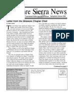 Spring 2009 Delaware Sierra Club Newsletter