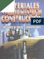 Vicente Pérez Alamá Materiales y Procedimientos de Construcción Mecánica de Suelos y Cimentaciones