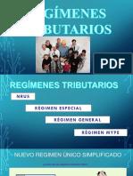 Regimenes Tributarios 2017