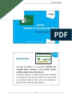 01. Excel - Ingreso y Formato de Datos