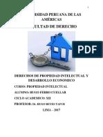Derechos de Propiedad Intelectual y Desarrollo Economico