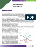Biotecnologia y Agroindustria castrovirreyna