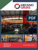 Brochure 2017 - Mecanogruas