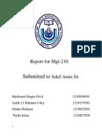 MGT 210 Report (Grameen Phone)