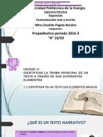 Comunicación Oral y Escrita 2.1