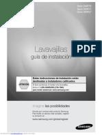 Manual Instalacion Lavavajilla Samsung DMR57LFB