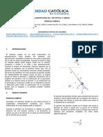 Laboratorio No 1 Optica Pendulo Simple