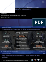 IBM Mobile Strategy - Steve Mills