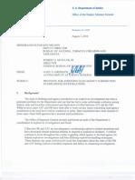 ATF and FBI Final Memo 080310