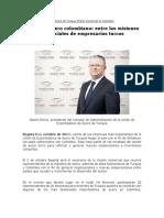 Rueda de Negocios Turquía - Colombia 2017.Unión de Exportadores de Acero de Turquía