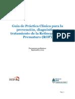 Guia Practica Clinica - Prevencion - Diagnostico Tratamiento Rop (1)