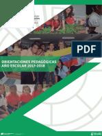 Orientaciones-Pedagogicas 2017 2018